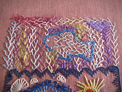 Feather Stitch (JennyPennyPoppy) Tags: stitching tast featherstitch takeastitchtuesday