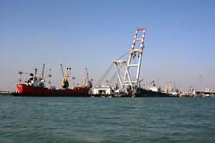 Khor al-Zubair Port, Basrah, Iraq