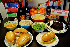 nfc championship eats (sevenworlds16) Tags: food cooking football yum snacks eats sandwiches nfcchampionship