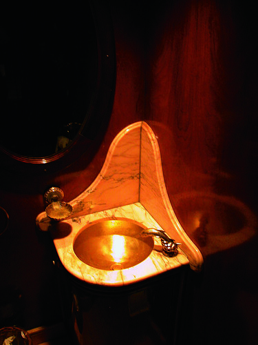 Al Andalus - Luxury Train wash basin
