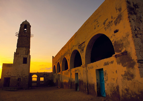 Mosque And Minaret In Zeila Somaliland