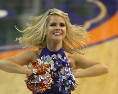 Gator Dazzlers (dbadair) Tags: basketball cheerleaders florida gators lsu tigers cheer sec uf odome