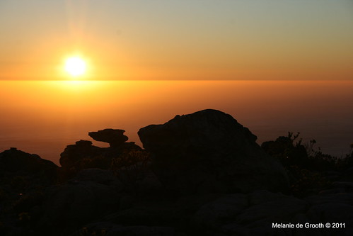 Sunset on Table Mountain 3