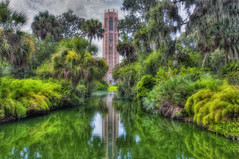 Bok Tower Classic View Glow (Photomatt28) Tags: florida nik carillion hdr topaz boktower lakewales photomatix classicview