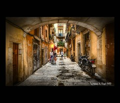 Barcelona - Alley After Rain (Explored) (LaTietze) Tags: barcelona photoshop spain nikon bcn processing catalunya hdr spanien catalana topaz photomatix tonemapping colorphotoaward d7000 bestcapturesaoi elitegalleryaoi mygearandme mygearandmepremium mygearandmebronze mygearandmesilver mygearandmegold mygearandmeplatinum mygearandmediamond sigma816 ringexcellence dblringexcellence tplringexcellence eltringexcellence rememberthatmomentlevel4 rememberthatmomentlevel1 flickrsfinestimages1 flickrsfinestimages2 flickrsfinestimages3 rememberthatmomentlevel2 rememberthatmomentlevel3 rememberthatmomentlevel7 rememberthatmomentlevel9 soulocreativity4 rememberthatmomentlevel5 rememberthatmomentlevel6 rememberthatmomentlevel8 rememberthatmomentlevel10