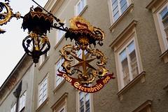 Sternbräu (Weingarten) Tags: salzburg austria österreich schild signage insegna autriche enseigne salisburgo salzbourg getreidegasse aushängeschild