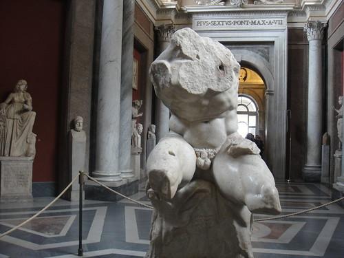 Belvedere Torso in Vatican Museums
