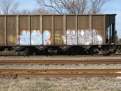 AEST2/WYSE (VA. STATE OF MIND) Tags: train graffiti freight wyse aest2