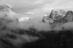 Clearing clouds from Tunnel View (john_h_moore) Tags: california winter fog clouds yosemitenationalpark clearingstorm
