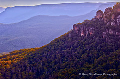 Lines of Blue (Dawn Woodhouse) Tags: blue lines australia nsw bluemountain wow1