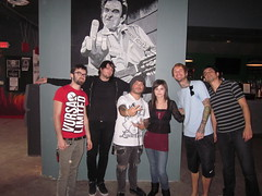 Me and D.R.U.G.S. This picture was taken by their tour manager. (jngarza7x) Tags: austin texas drugs craigowens sintour destroyrebuilduntilgodshows emoseast