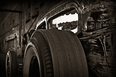 """Big Wheel"" (Neil Banich Photography) Tags: bw cars car automobile artistic details heavymetal custom hotrods ratrod autoart artcool carscool neilbanichphotograhy imagescool"
