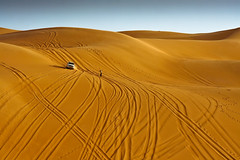 All what left is memory !! [FB] ( ) Tags: africa sahara 350d sand day dunes north arabic clear libya feature libyan  libyen fezzan ubari   awbari