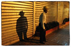 Modern Times (magneticart) Tags: street city shadow man country streetphotography progress desarrollo moderntimes nightstreet industrialization magneticart magneticpiccom giovannisavino