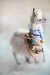(oso_polar) Tags: by toy oso doll handmade letters llama clay alpaka