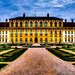 Schlosspark Oberschleißheim, neues Schloss - Westfassade (LR5 Processing)