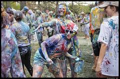 5 (Praneeth Rajsingh) Tags: street color fight paint university painted photojournalism documentary social iowa pj drake raj desmoines singh d610 praneeth 5018g praneethrs praneethrscom