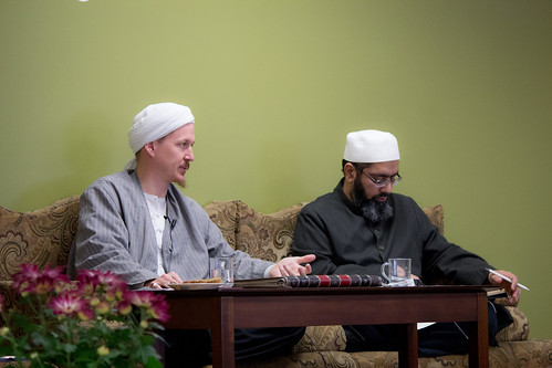 "Shaykh Yahya Rhodus at SeekersHub, Toronto and Seminar Series: Worship, Coffee and The Meaning of Life • <a style=""font-size:0.8em;"" href=""http://www.flickr.com/photos/88425658@N03/26235186193/"" target=""_blank"">View on Flickr</a>"