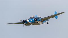 USN Lockheed PV-2 Harpoon 37472/N7670C '84' (Hugh Dodson) Tags: saturday ypsilanti harpoon lockheed usn 84 willowrun pv2 attuwarrior n7670c 37472 thunderovermichigan2015