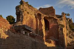 Ruinas del teatro, Taormina (diocrio) Tags: italia taormina sicilia