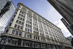 Union Square, San Francisco (mark.hogan) Tags: sanfrancisco california architecture downtown wideangle unionsquare