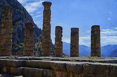 Ancient Delphi (kendo1938) Tags: ruins columns delphi worldheritagesite greece grc templeofapollo ancientdelphi phocis