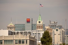 Oakland Skyline from Mariner Square (jeffmgrandy) Tags: skyline marina oakland wellsfargo alameda tribune mariner