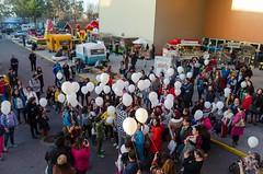 Mercazoco Diciembre Gijón Feria de Muestras 3 Aniversario Food Trucks panorámica