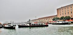 Italy, Venice - vaporetti near the railway station (Biffo1944) Tags: venice italy station railway vaporetti
