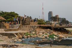 Kozhikode City Beach (AjayPPhotography) Tags: beach kerala sewage kozhikode