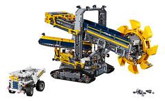 LEGO Technic 42055 (hello_bricks) Tags: lego technic legotechnic 42054 42053 42055