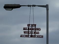 Hanging (stillunusual) Tags: uk travel england urban streetart london wall streetphotography wallart urbanart shoreditch bricklane 2016 travelphotography ldn travelphoto urbanwalls londonstreetart travelphotograph pedleystreet londonstreetphotography wallporn