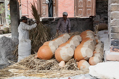 Firing Pots (Mark S Weaver) Tags: kathmandu nepa