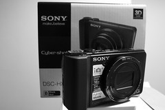 """ Our new Sony Cyber-shot DSC-HX9V, fully charged and ready to take some images "" (