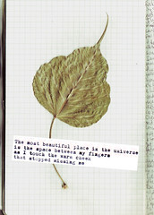 Stopped Missing Me (ieatglass) Tags: moleskine me beautiful words missing warm poetry cheek place space touch fingers universe between stopped ain unpunk tumblr