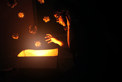 Another World (SophieWiles) Tags: flowers light girl box magic low floating levitation dreams sophiewiles wilessophie1087755168