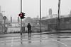 Don't go further on a cold and rainy day in Duisburg (MichaelSanderDU) Tags: germany deutschland rainyday stop nrw redlight duisburg ruhrgebiet nordrheinwestfalen revier regentag ruhrpott stadtduisburg michaelsander michaelsanderdu