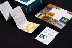 ARDUINO RETAIL PACKAGING (TODO.TO.IT) Tags: print graphicdesign identity cardboard packaging todo branding arduino openhardware todotoit