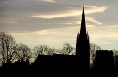 St Mary's Handbridge, Dec 2008 (DizDiz) Tags: uk england cheshire chester december21st olympusc720uz countytown stmaryswithoutthewalls