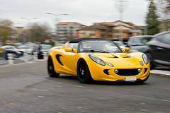 Lotus Elise - Telethon Dax ASA - (Nicolas Serre) Tags: 3 club automobile lotus elise asa dax dcembre samedi telethon 2011 daquitaine sportives
