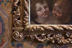 cherubic curls and curlicues 1595 (ii) colour version (penwren) Tags: portrait france painting frame cherub ornate oiloncanvas curlicue chateaudechenonceau huilesurtoile loireetcher loirechateaux endianechasseresse