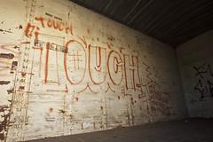 TOUCH (Chasing Paint) Tags: railroad train graffiti touch rail trains traincar graff orangecounty oc freight freights 714