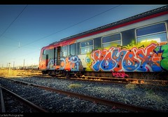 Pimp your Train .. (Le***Refs *PHOTOGRAPHIE*) Tags: colors train graffiti nikon spray vandal cans z2 hdr rame sncf ter klain d90 railpassion yoyox lerefs trainiste bad19