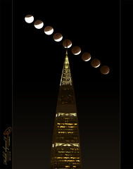 ( Eclipse Moon 2011 ) ( Explore ) (Halah Al-yousef ||||) Tags: camera moon canon eos eclipse explore 7d 70200 28l  2011 halah         alyousef