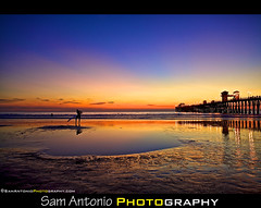 Lunar Eclipses and Beautiful Beach Sunsets (Sam Antonio Photography) Tags: california blue sunset moon beach nature water colors yellow pier sand oceanside beachsunset gettyimages lunareclipse oceansidepier travelphotography flickrexplore saturatedcolors outdoorphotography surfphotography sandiegobeach beachphotography oceansidebeach californiasurfer californiabeachsunset sunsetatthepier twilightfans samantonio samantoniophotography samantoniophotographycom westcoastlunareclipse