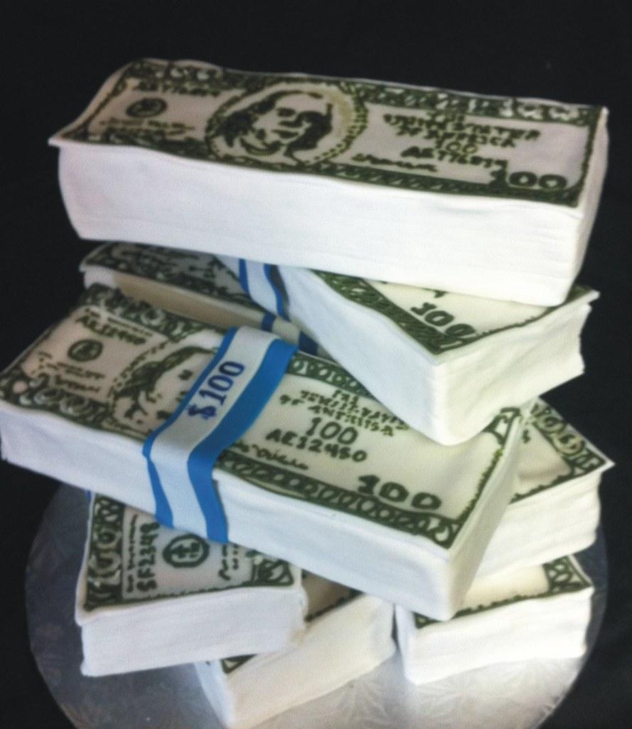 The world 39 s best photos of moneycake flickr hive mind - Money cake decorations ...