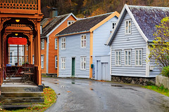 Norwegian Design (John & Tina Reid) Tags: autumn norway travelphotography sognfjord laerdal norwegiandesign jonreid tinareid norwegianarchitecture httpnomadicvisioncom norwayvillage