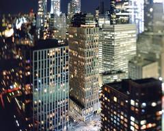 tribeca and lower manhattan at night (andrew c mace) Tags: roof film rooftop skyline night analog cityscape manhattan aerial swing financialdistrict brooklynbridge 4x5 tribeca monorail provia largeformat lowermanhattan schneider cambo 100f tiltshift 150mm v700 epsonv700 aposymmarl