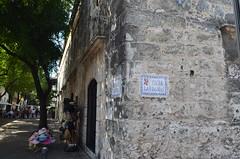 DSC_0151 (Kent MacElwee) Tags: sign dominicanrepublic caribbean hispaniola santodomingo 16thcentury zonacolonial westindies repúblicadominicana lacapital callelasdamas greaterantilles