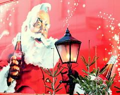 Coca Cola Santa (Jordan H Photography) Tags: santa christmas truck cola portsmouth coca